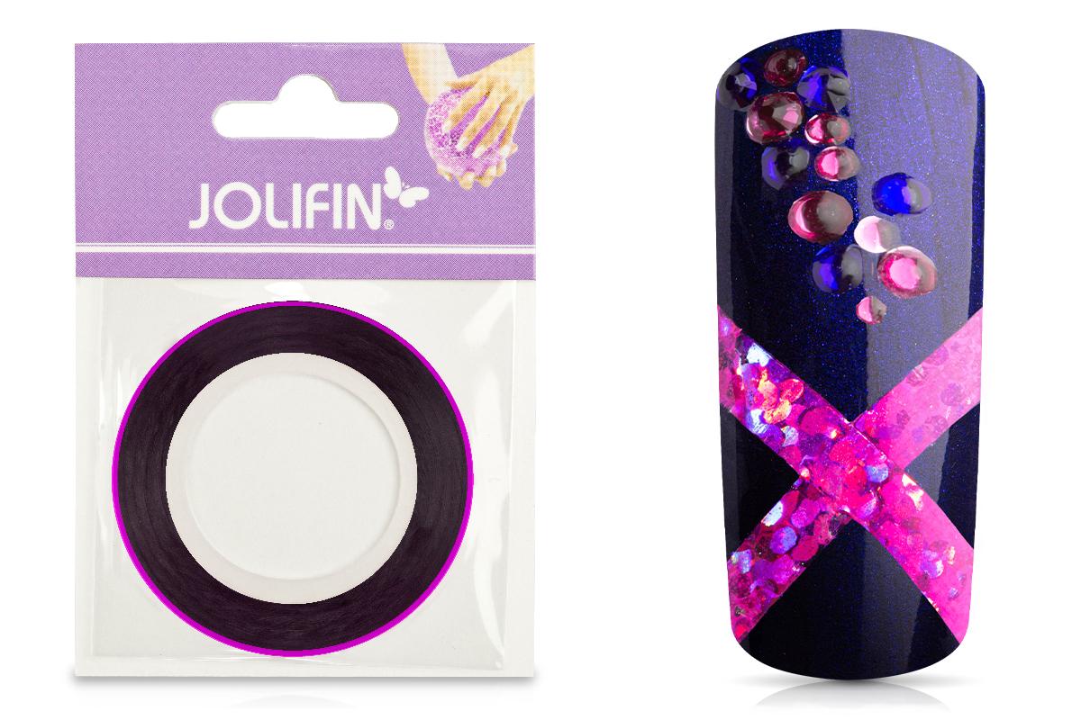 Jolifin Pinstripes hologramm pink - 3mm