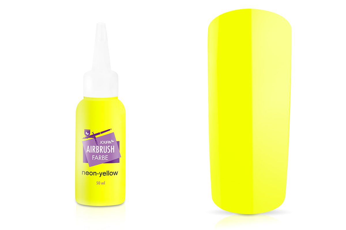 Jolifin Airbrush Farbe - neon-yellow