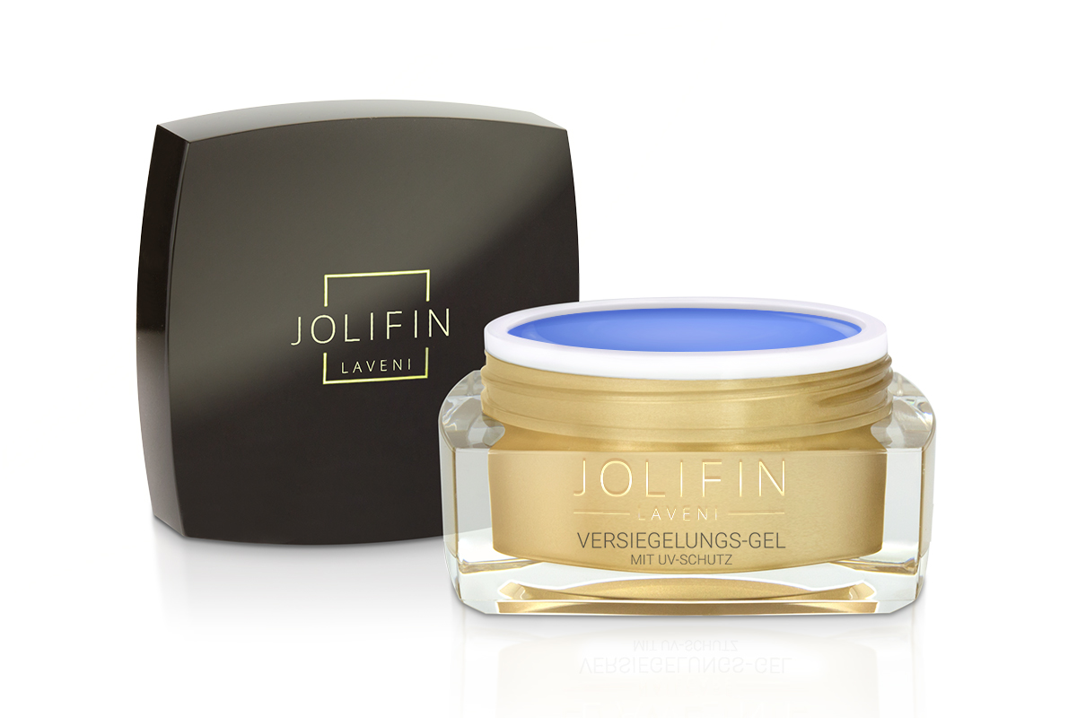 Jolifin LAVENI - Versiegelungs-Gel mit UV-Schutz 5ml