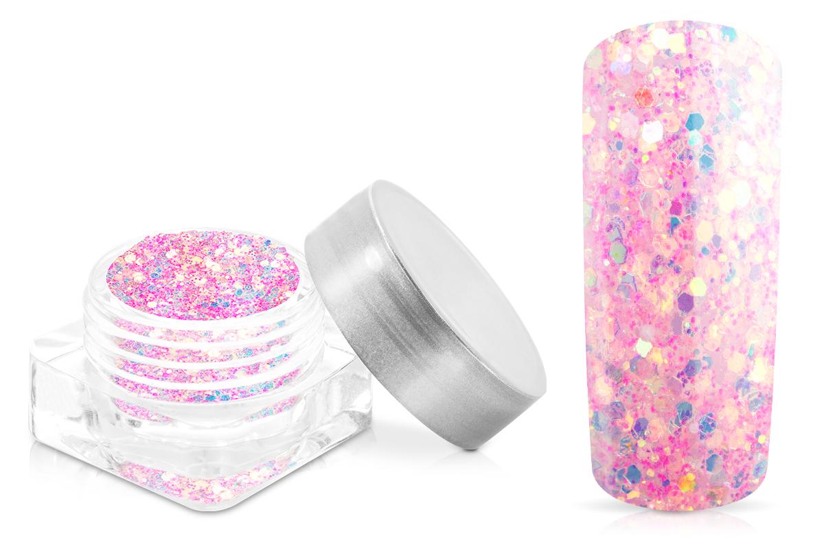 Jolifin Nightshine Illusion Glitter - pink