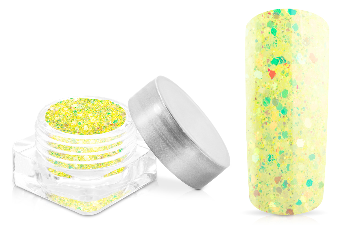 Jolifin Nightshine Illusion Glitter - yellow