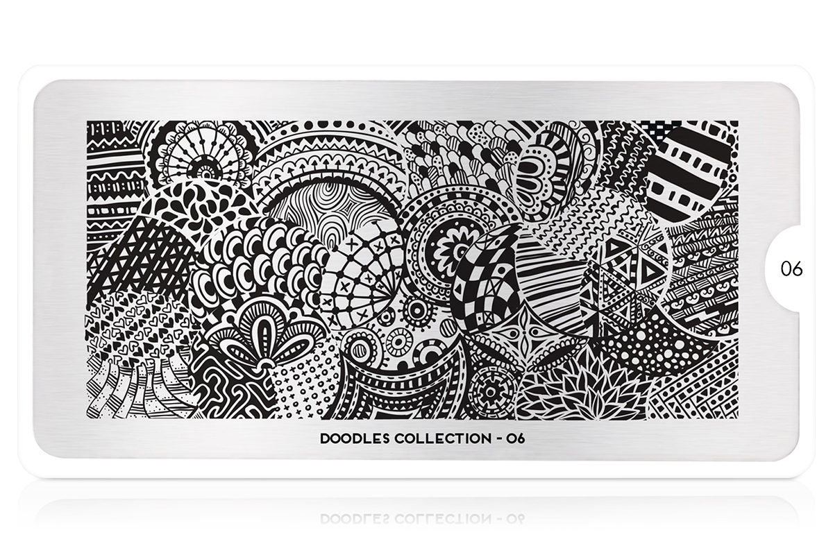 MoYou-London Schablone Doodles Collection 06