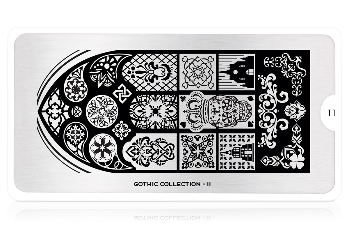 MoYou-London Schablone Gothic Collection 11