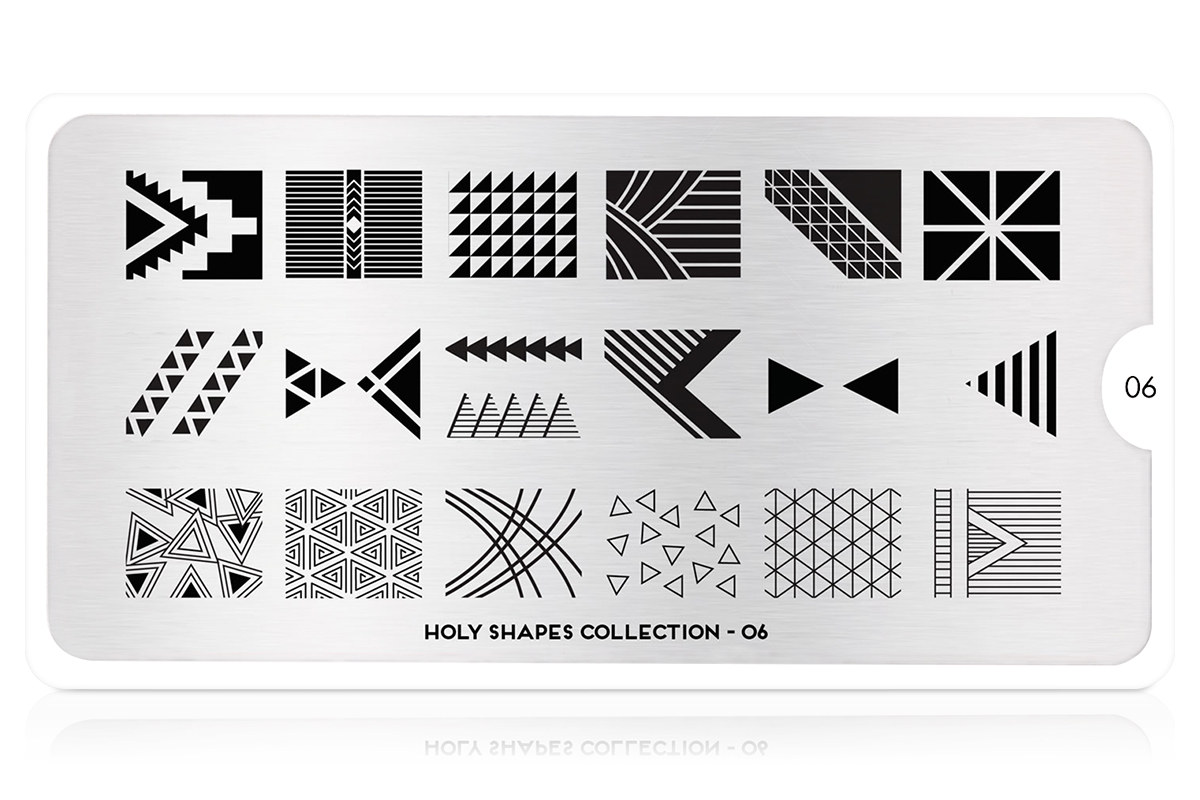MoYou-London Schablone Holy Shapes Collection 06