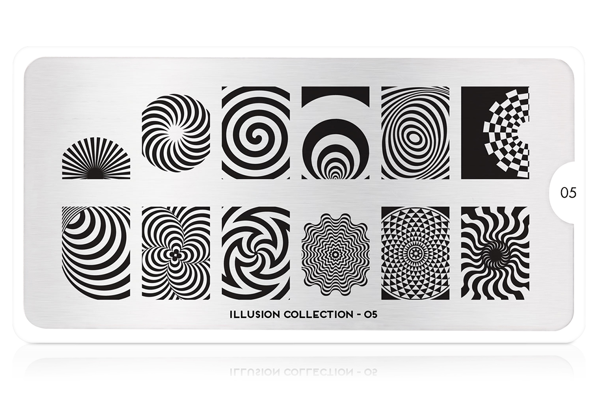 MoYou-London Schablone Illusion Collection 05