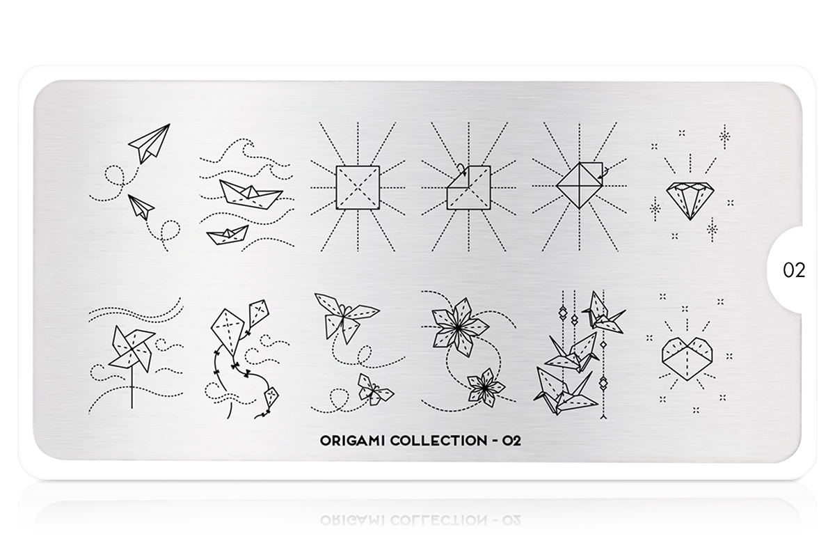 MoYou-London Schablone Origami Collection 02