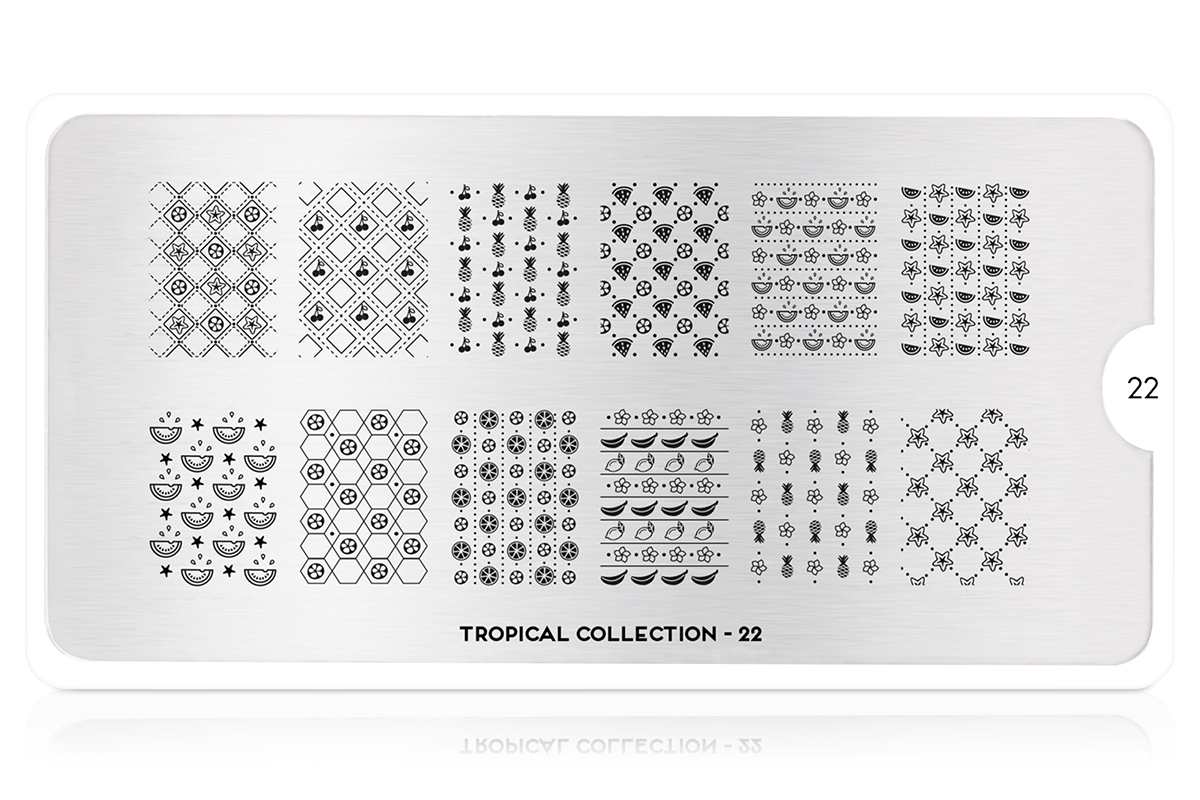MoYou-London Schablone Tropical Collection 22