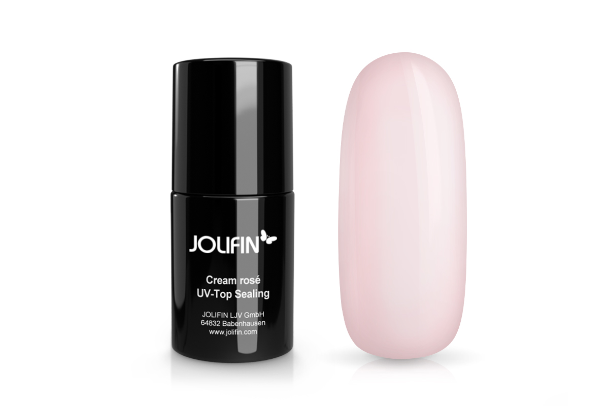 Jolifin UV Top-Sealing - cream rosé 14ml