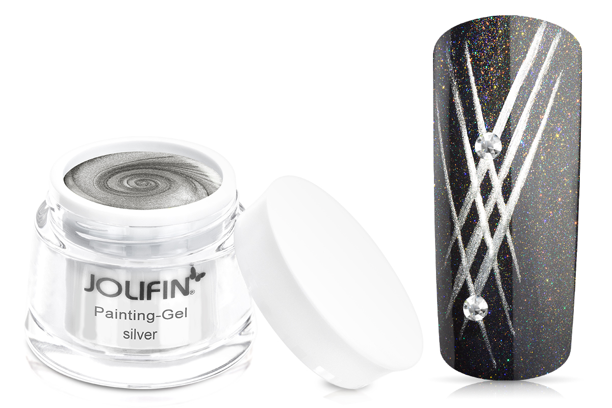Jolifin Painting-Gel silver 5ml