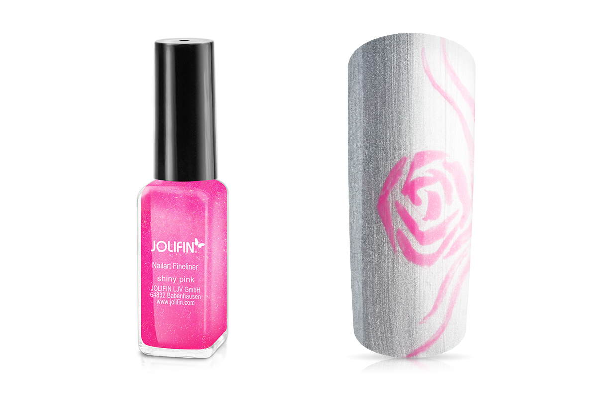 Jolifin Nailart Fineliner shiny pink 10ml