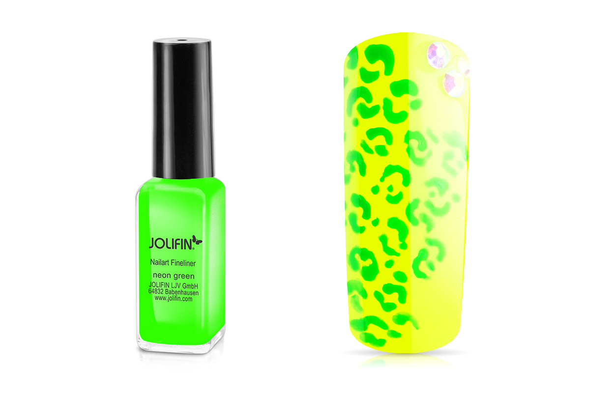 Jolifin Nailart Fineliner neon-green 10ml