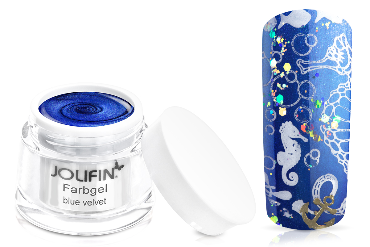 Jolifin Farbgel blue velvet 5ml