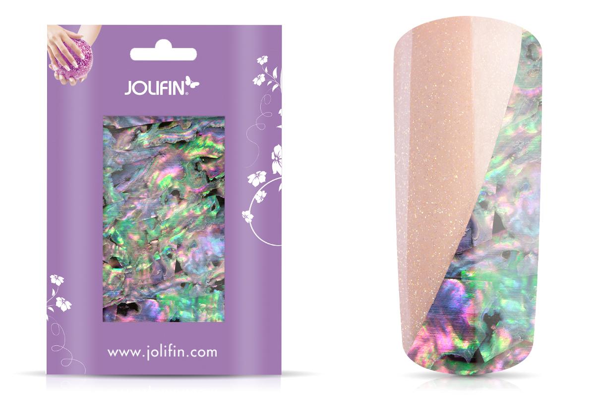 Jolifin Nailart flexi Seashell Wrap multicolor