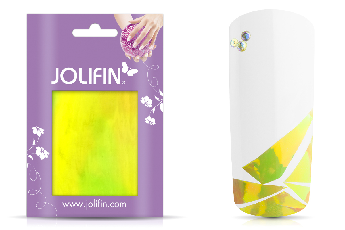 Jolifin Diamond Foil - yellow