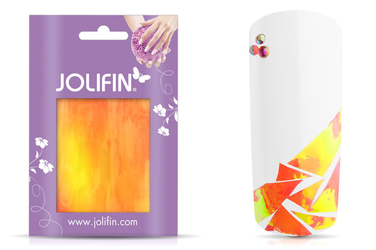 Jolifin Diamond Foil - orange