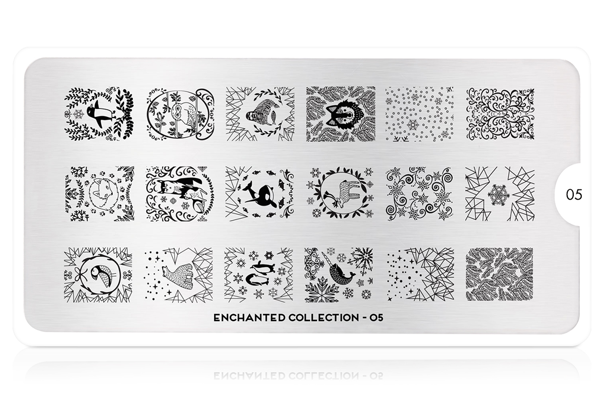 MoYou-London Schablone Enchanted Collection 05