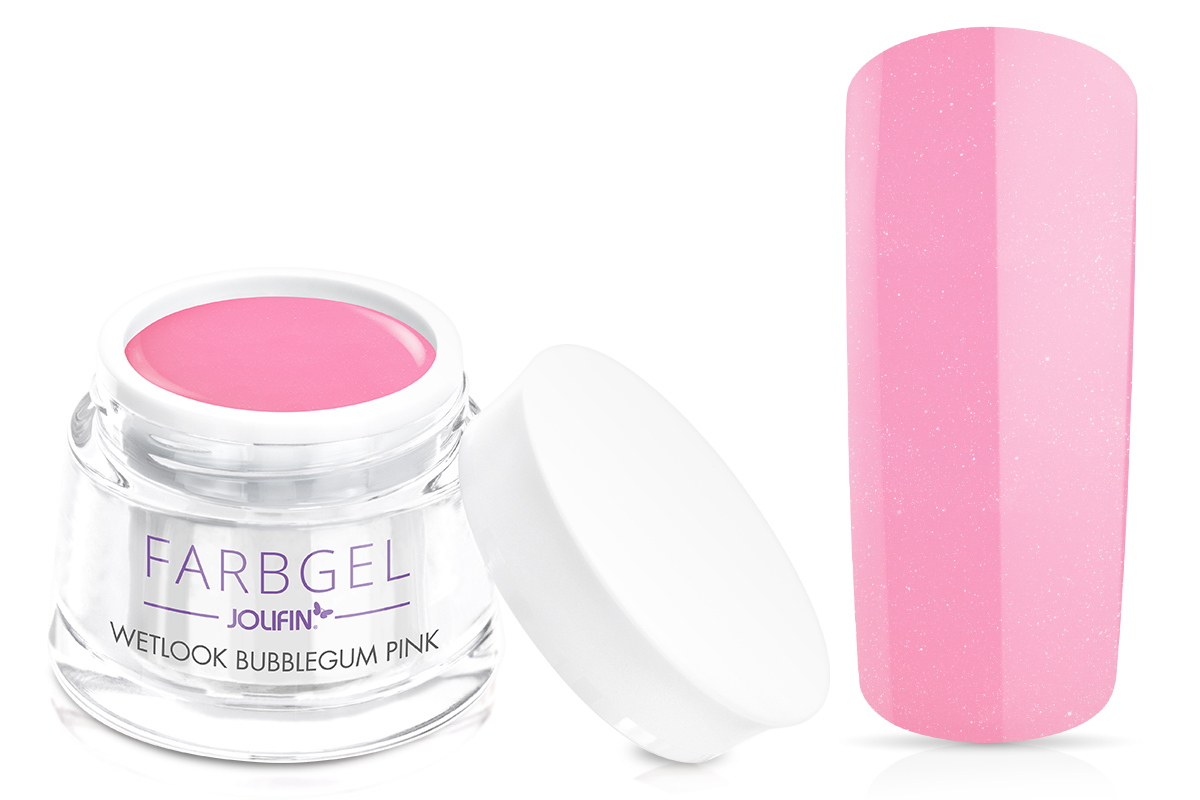 Jolifin Wetlook Farbgel bubblegum pink 5ml