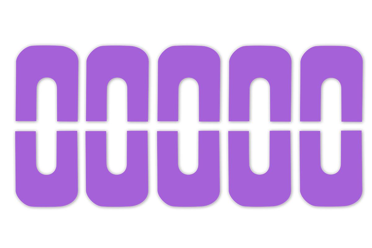 Jolifin Skin-Cover Sticker - purple