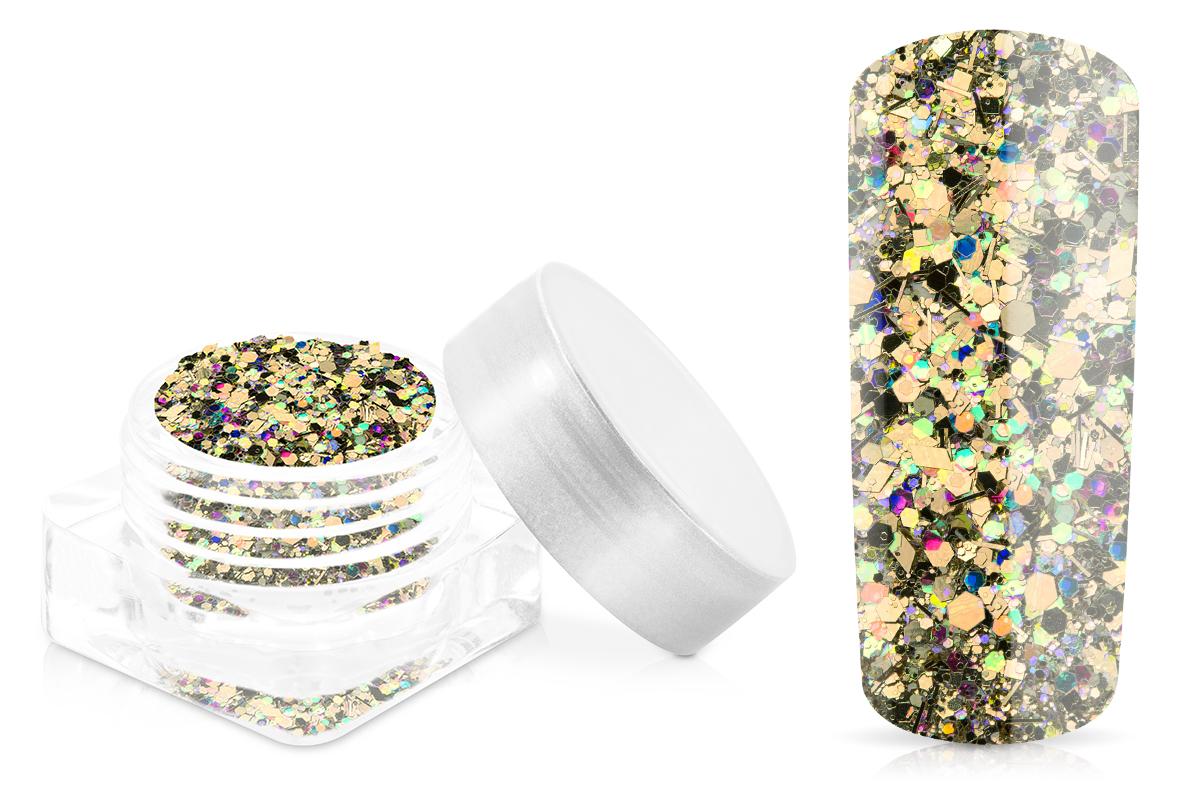 Jolifin Illusion Glitter IX - champagne glam