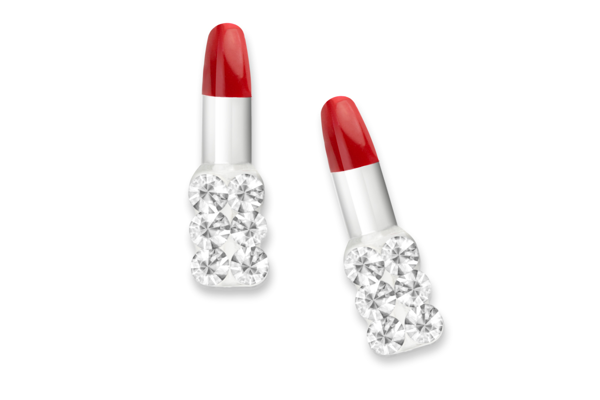 Jolifin Overlay silver lipstick