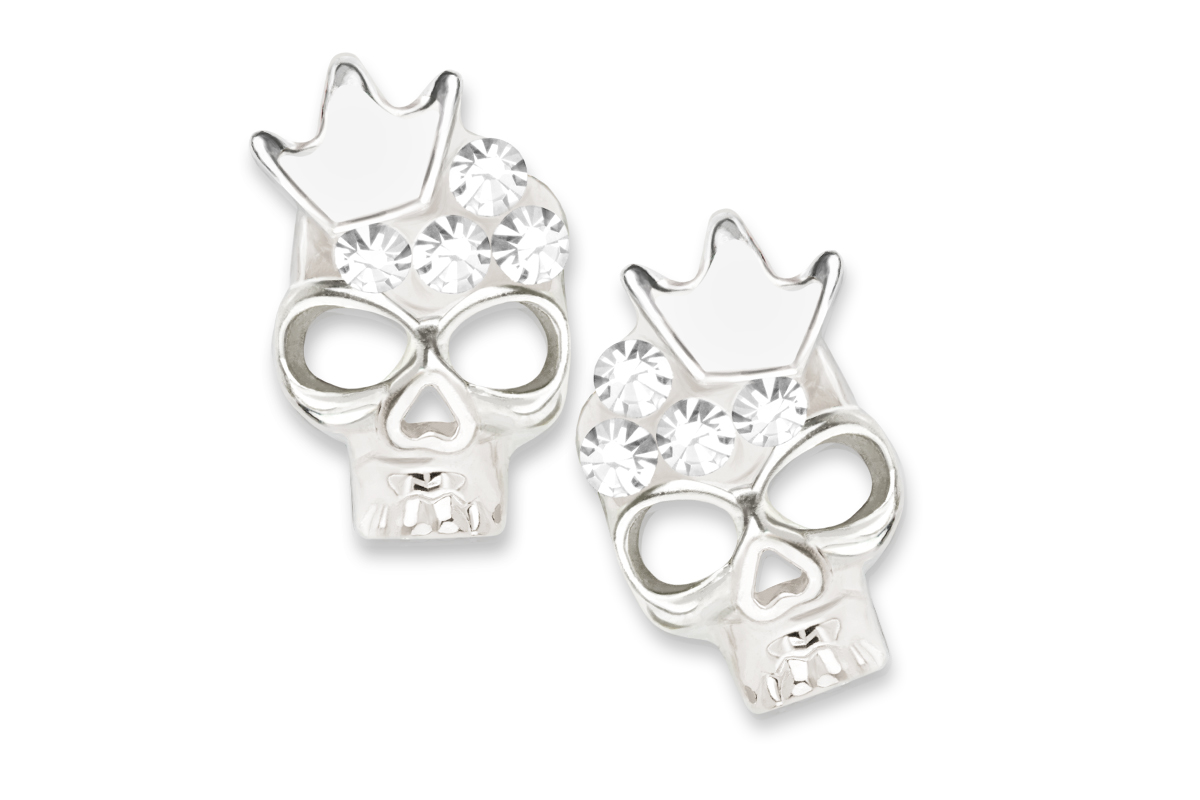 Jolifin Overlay diamond skull