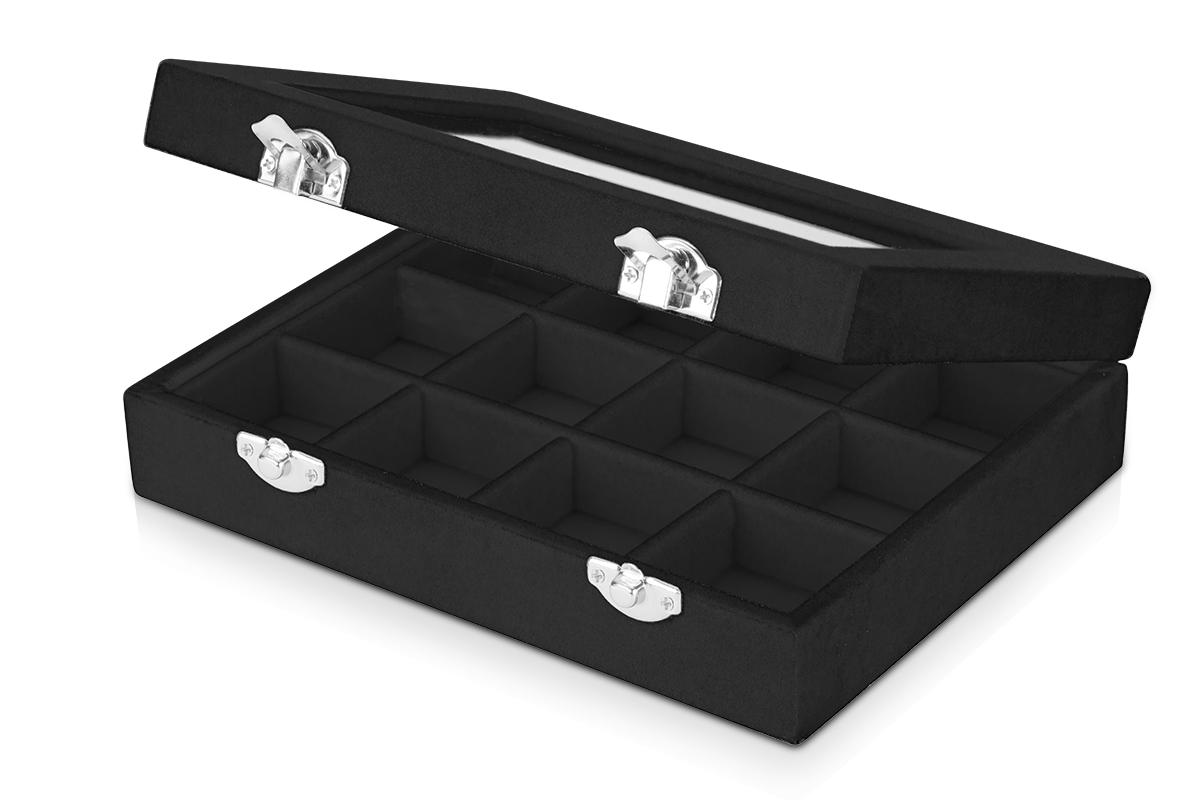 Jolifin Präsentationskoffer - velvet black