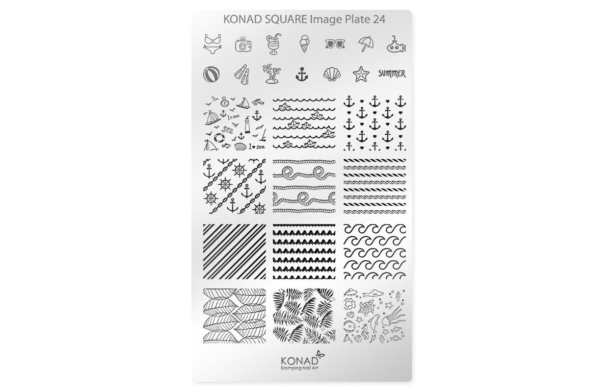 KONAD Schablone XL 24