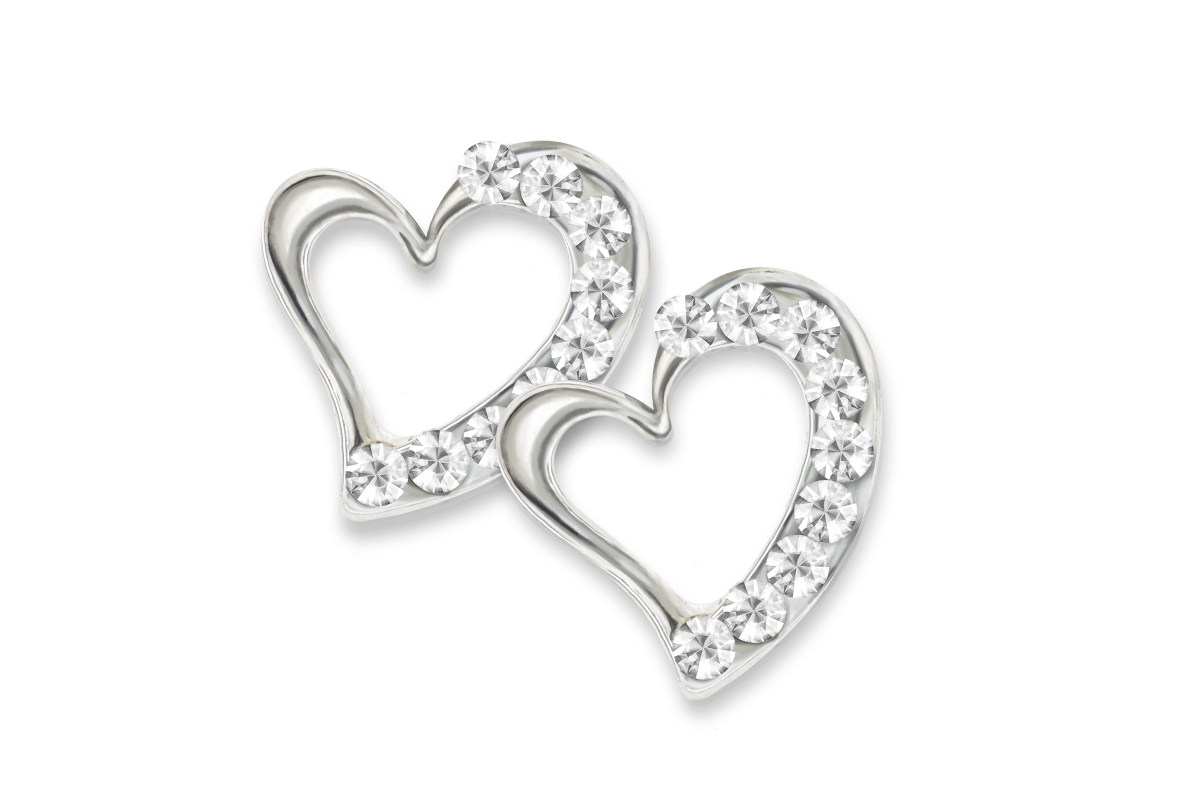 Jolifin Overlay diamond heart