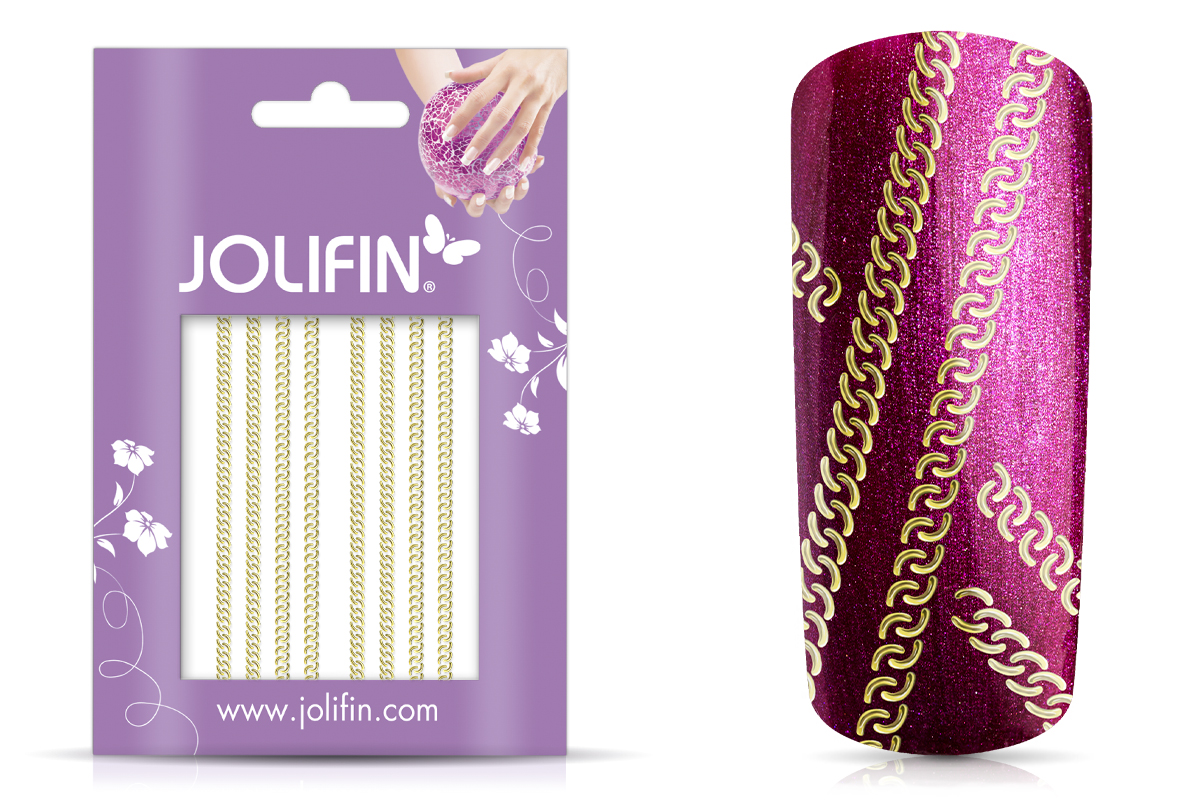 Jolifin Lace Sticker - Gold 1