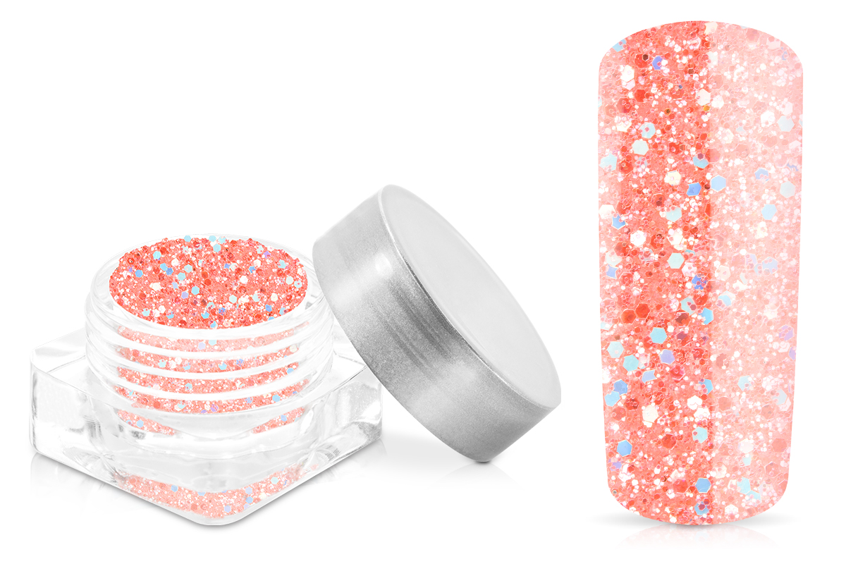 Jolifin Illusion Glitter X - pastell-coral