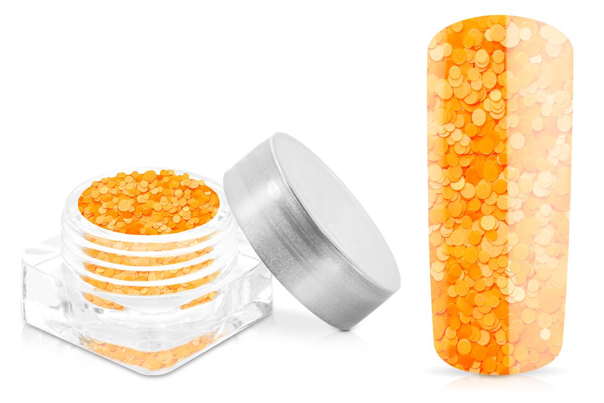 Jolifin Neon Pailletten-Mix - orange