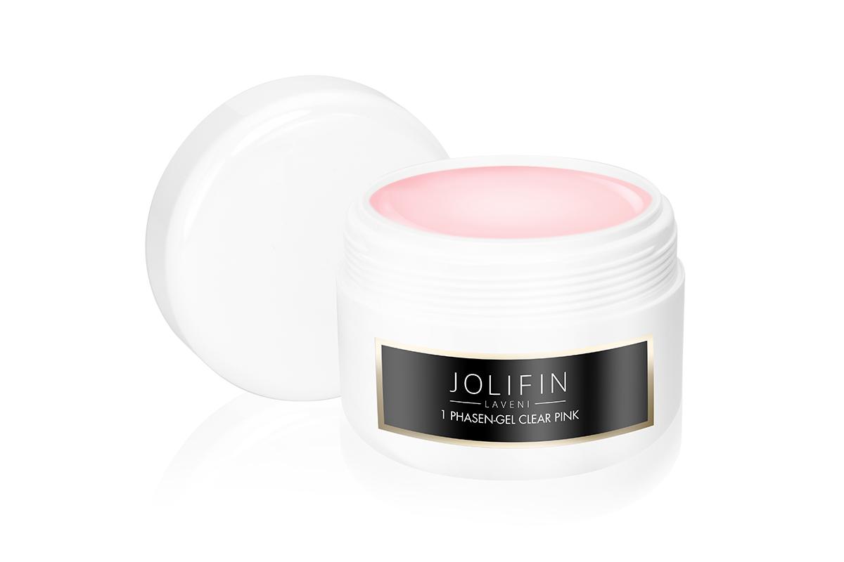 Jolifin LAVENI 1 Phasen-Gel clear pink standfest 250ml