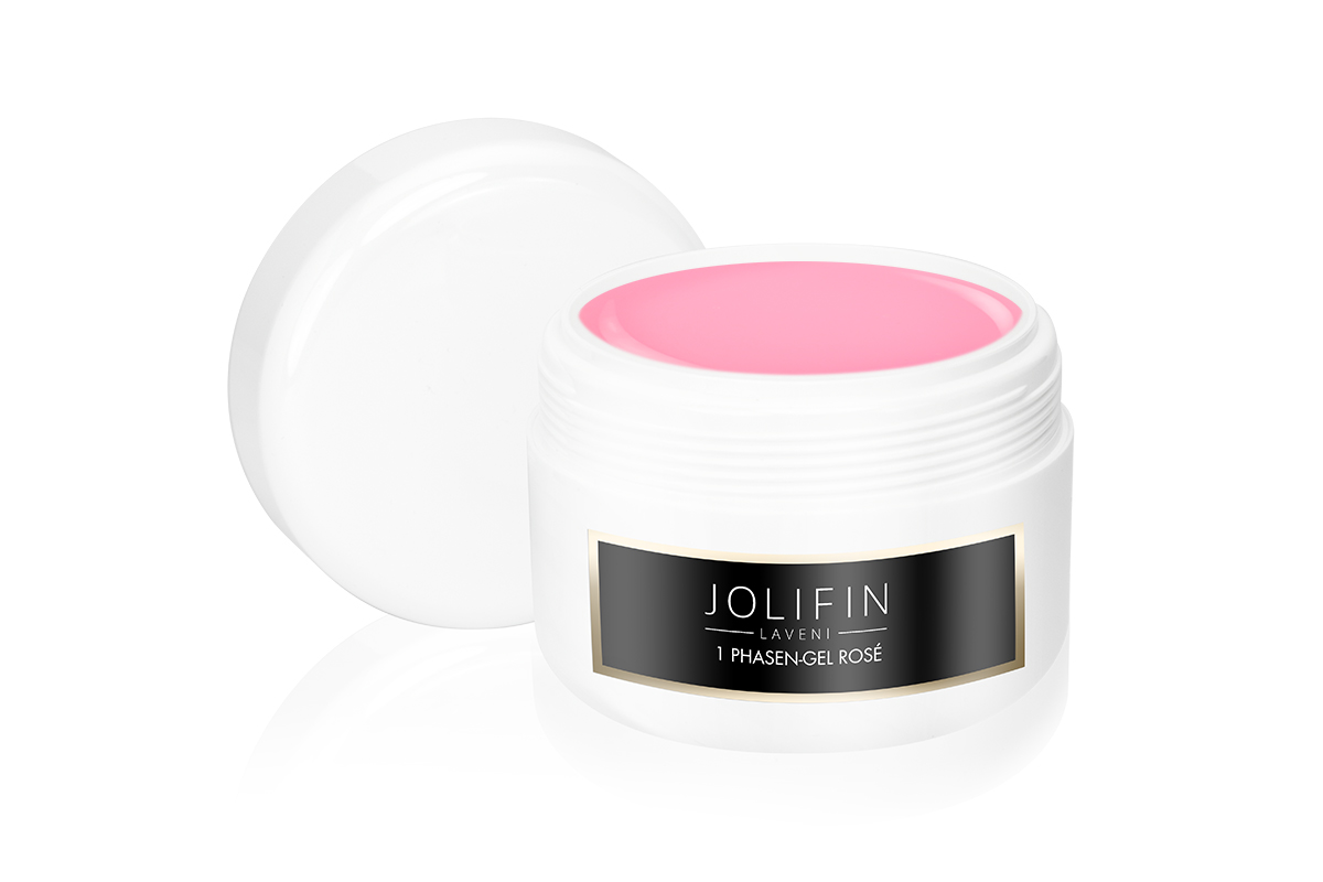 1 Phasen-Gel rosé standfest 250ml - Jolifin LAVENI
