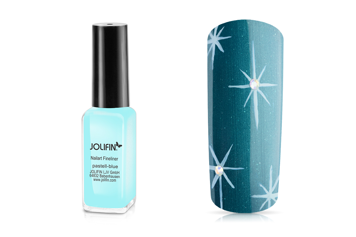Jolifin Nailart Fineliner pastell-blue 10ml