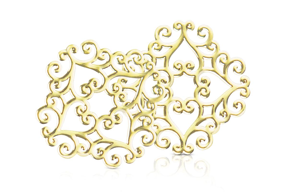 Jolifin Einleger Schnörkel gold