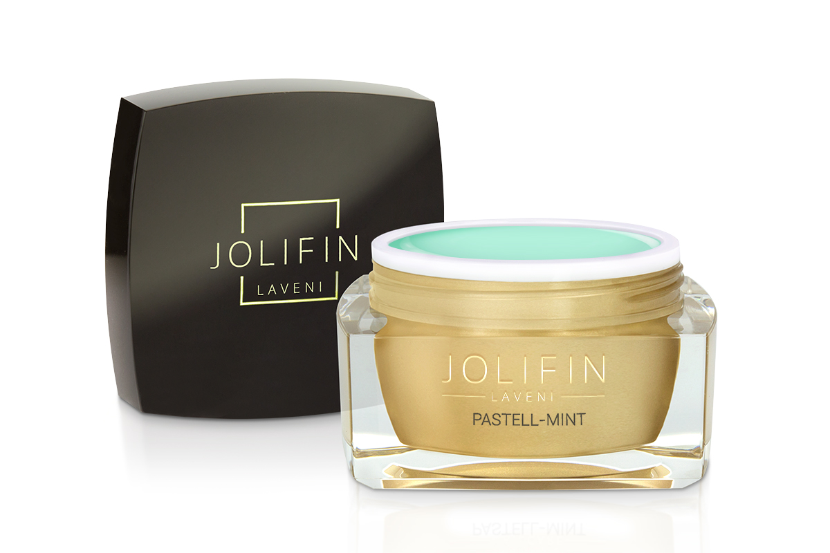Jolifin LAVENI Farbgel - pastell-mint 5ml