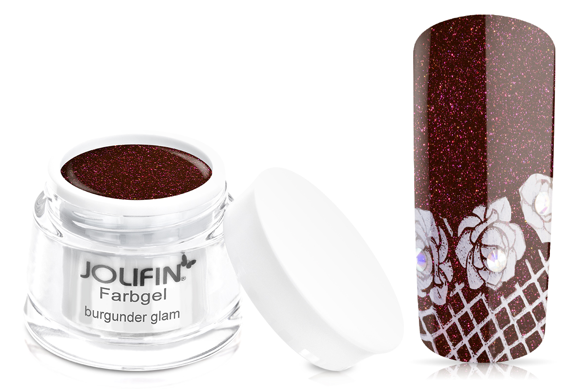 Jolifin Farbgel burgunder glam 5ml