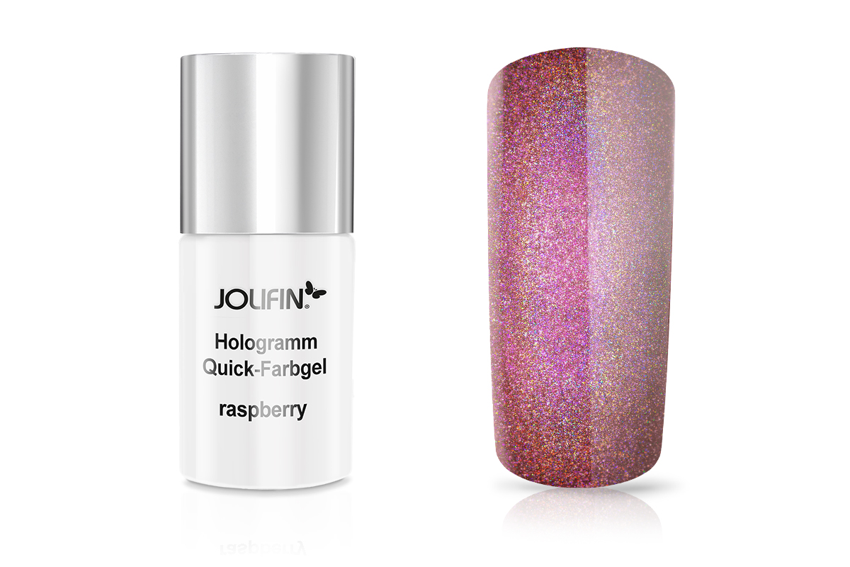 Jolifin Hologramm Quick-Farbgel raspberry 11ml
