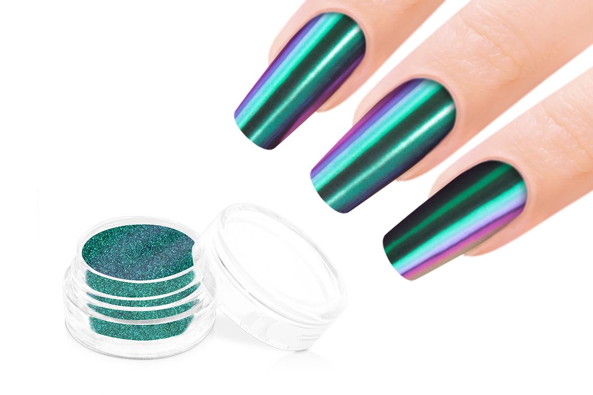 Jolifin Mirror-Chrome Pigment - FlipFlop türkis & violet