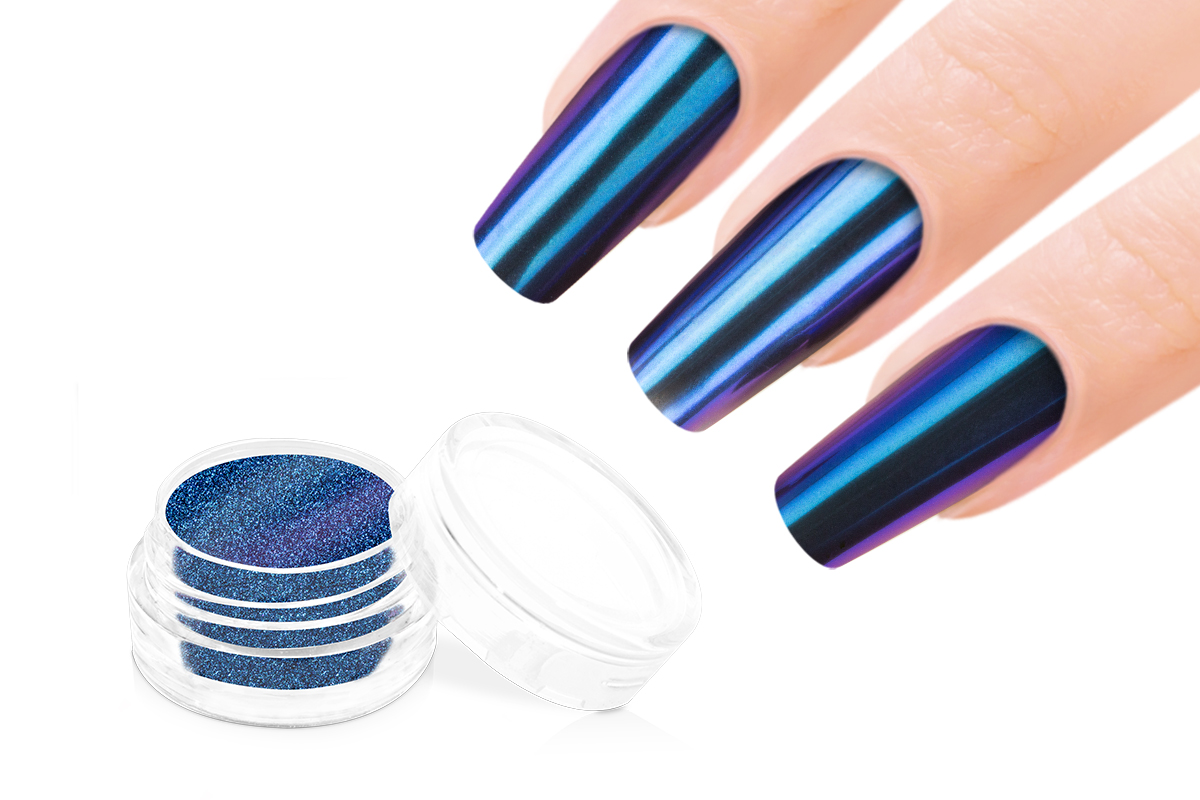 Jolifin Mirror-Chrome Pigment - FlipFlop purple & blue