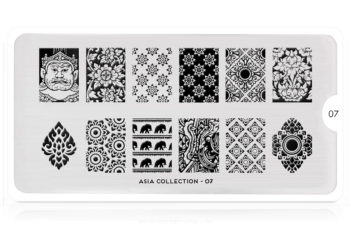 MoYou-London Schablone Asia Collection 07