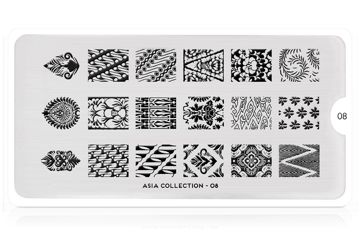 MoYou-London Schablone Asia Collection 08