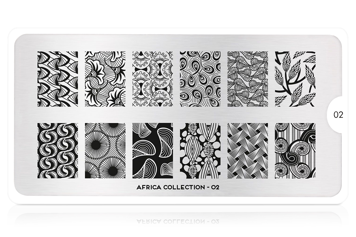 MoYou-London Schablone Africa Collection 02