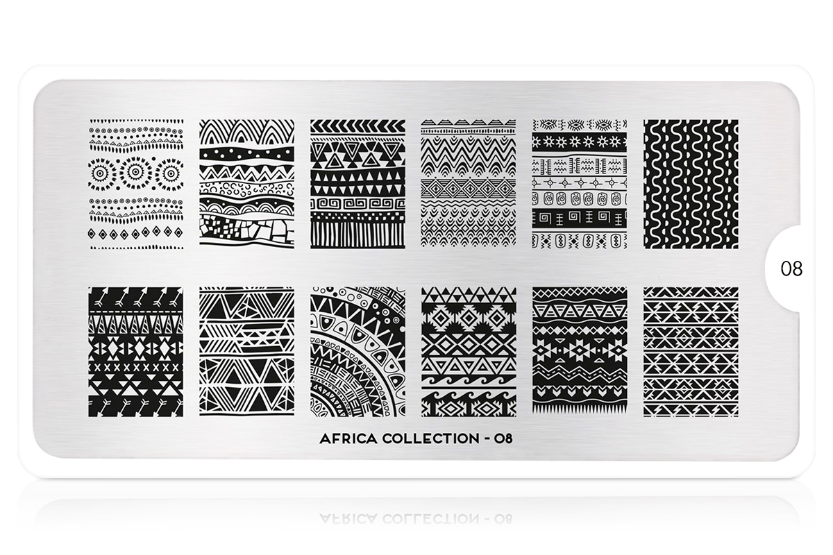 MoYou-London Schablone Africa Collection 08