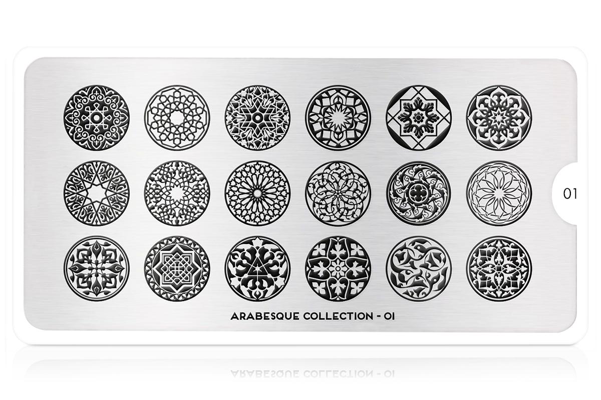 MoYou-London Schablone Arabesque Collection 01