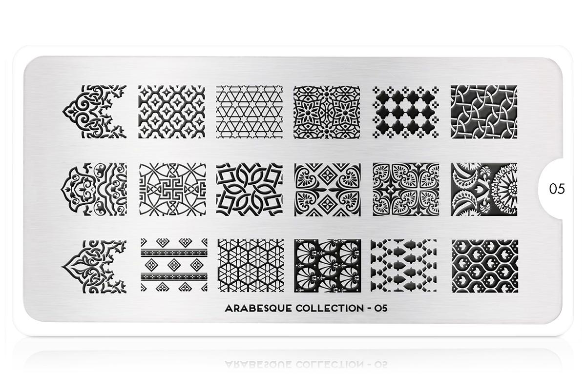MoYou-London Schablone Arabesque Collection 05