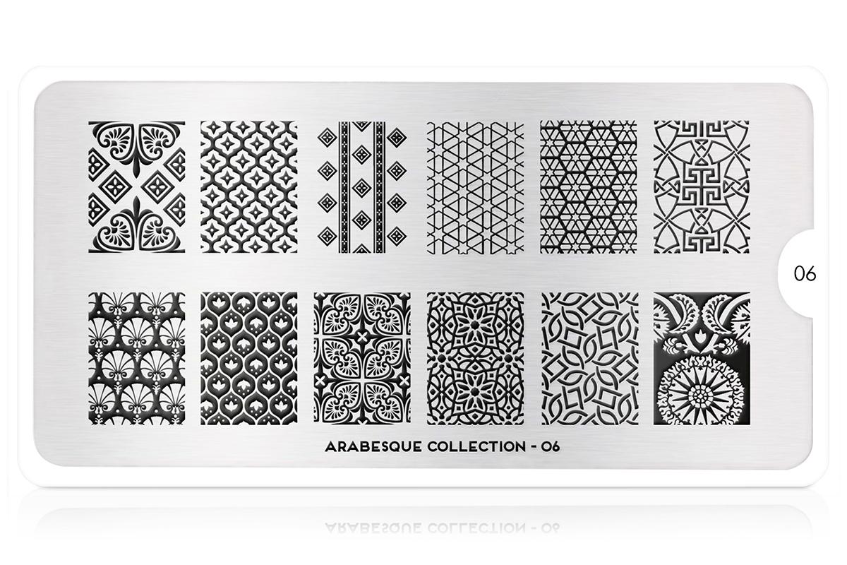 MoYou-London Schablone Arabesque Collection 06