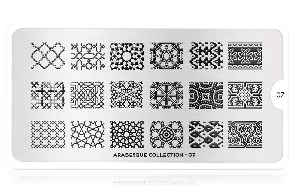MoYou-London Schablone Arabesque Collection 07