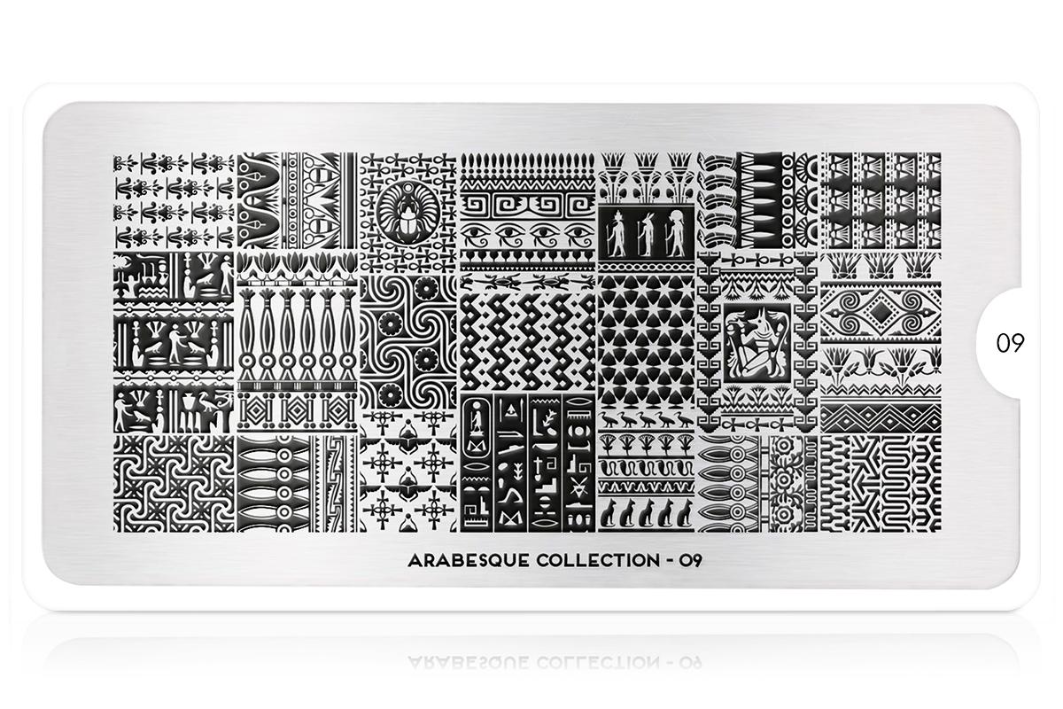 MoYou-London Schablone Arabesque Collection 09