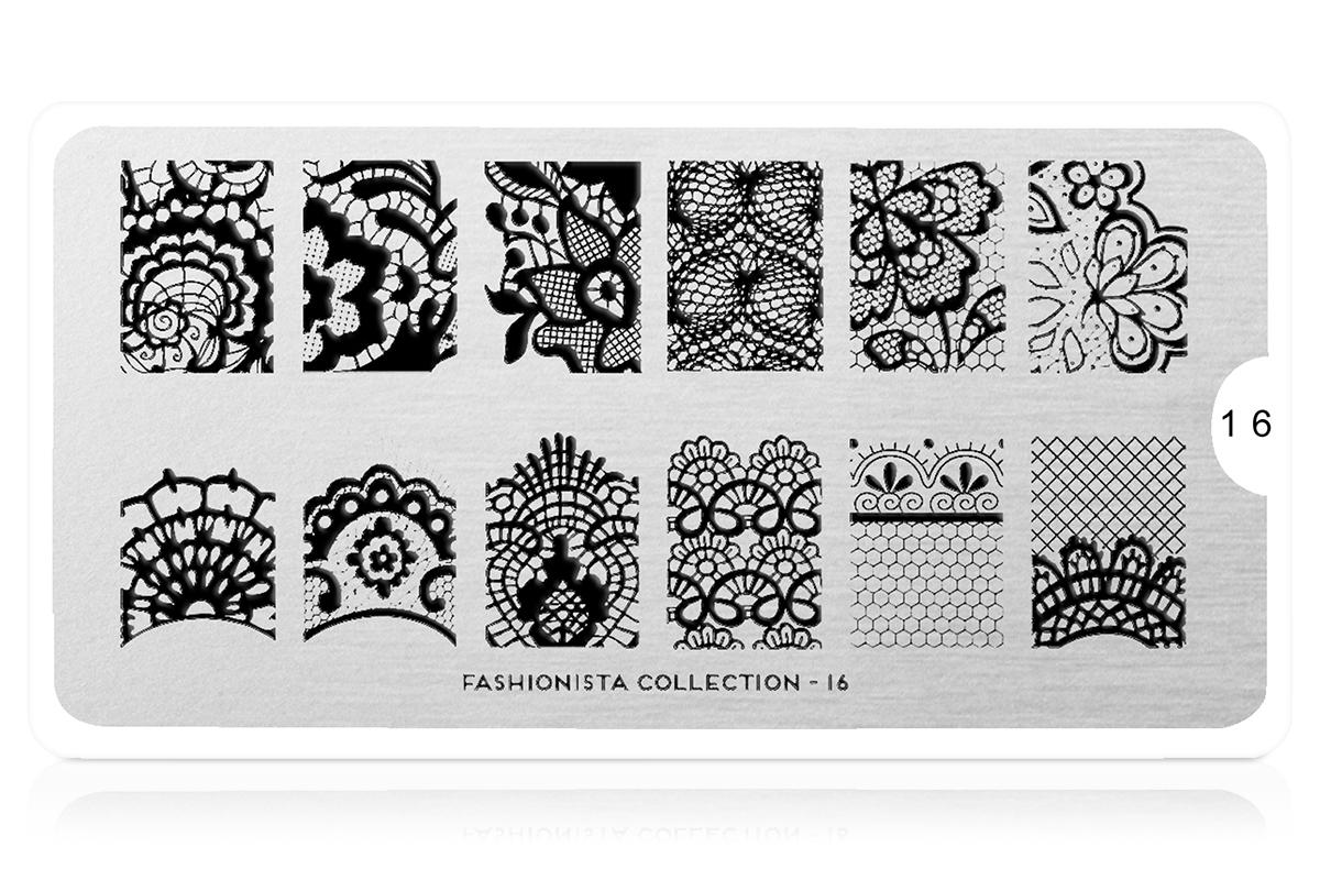 MoYou-London Schablone Fashionista Collection 16